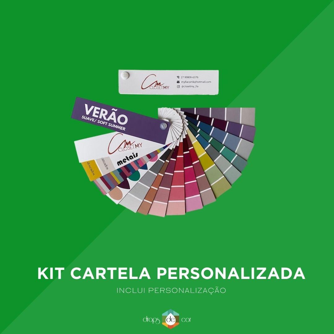 Kit Cartela Personalizada