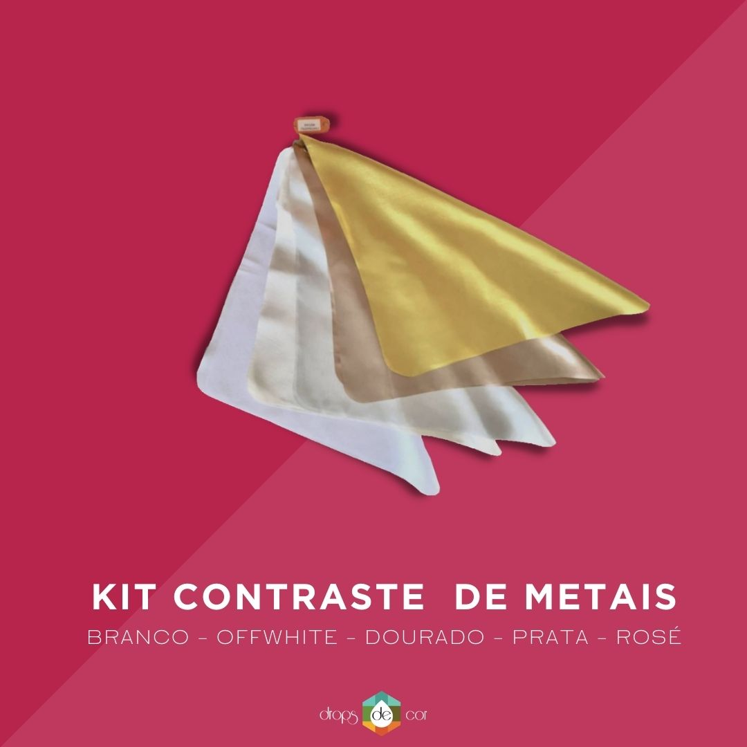 Kit Contraste de Metais