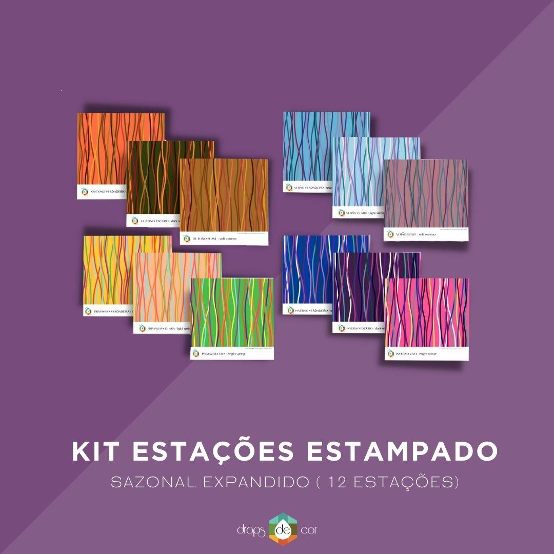Kit Estações Compacto Estampado
