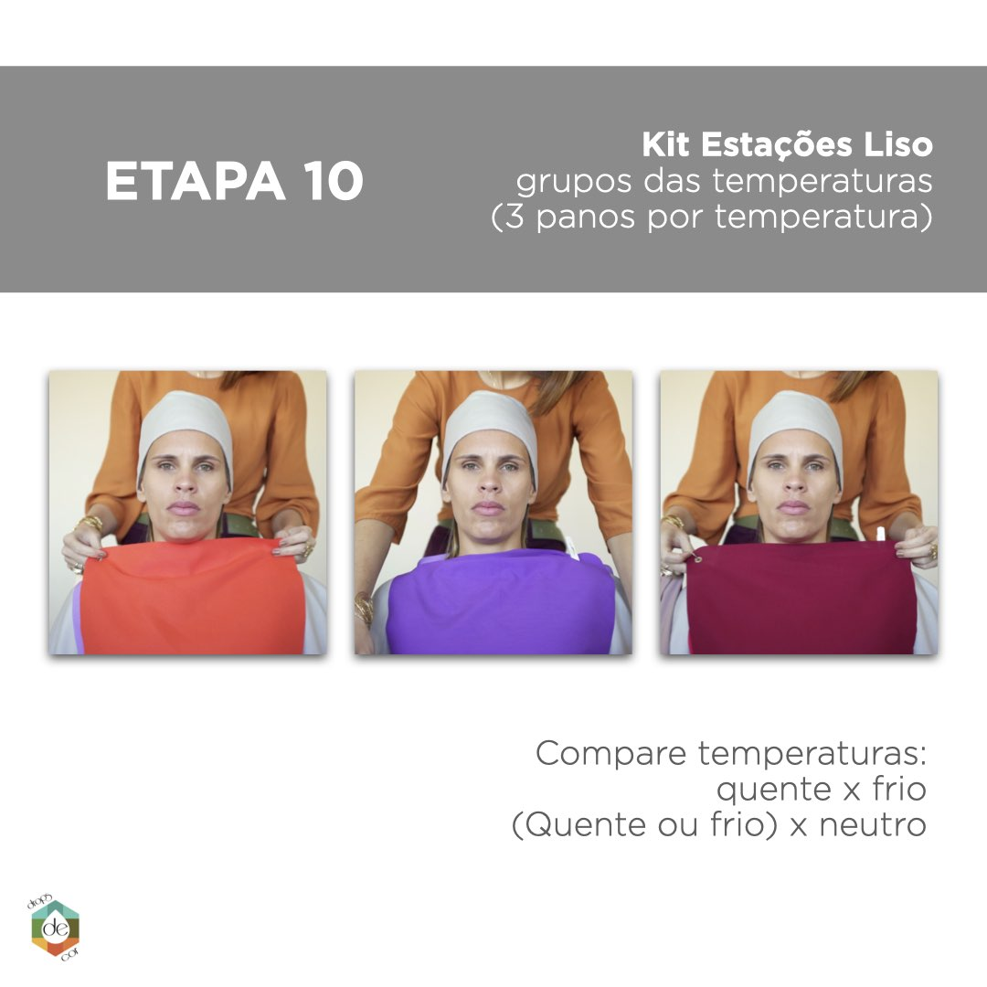 Kit Estações Método Sazonal Expandido - Tecidos Lisos