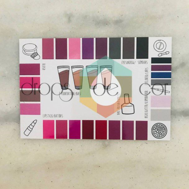 Kit Makeup Card