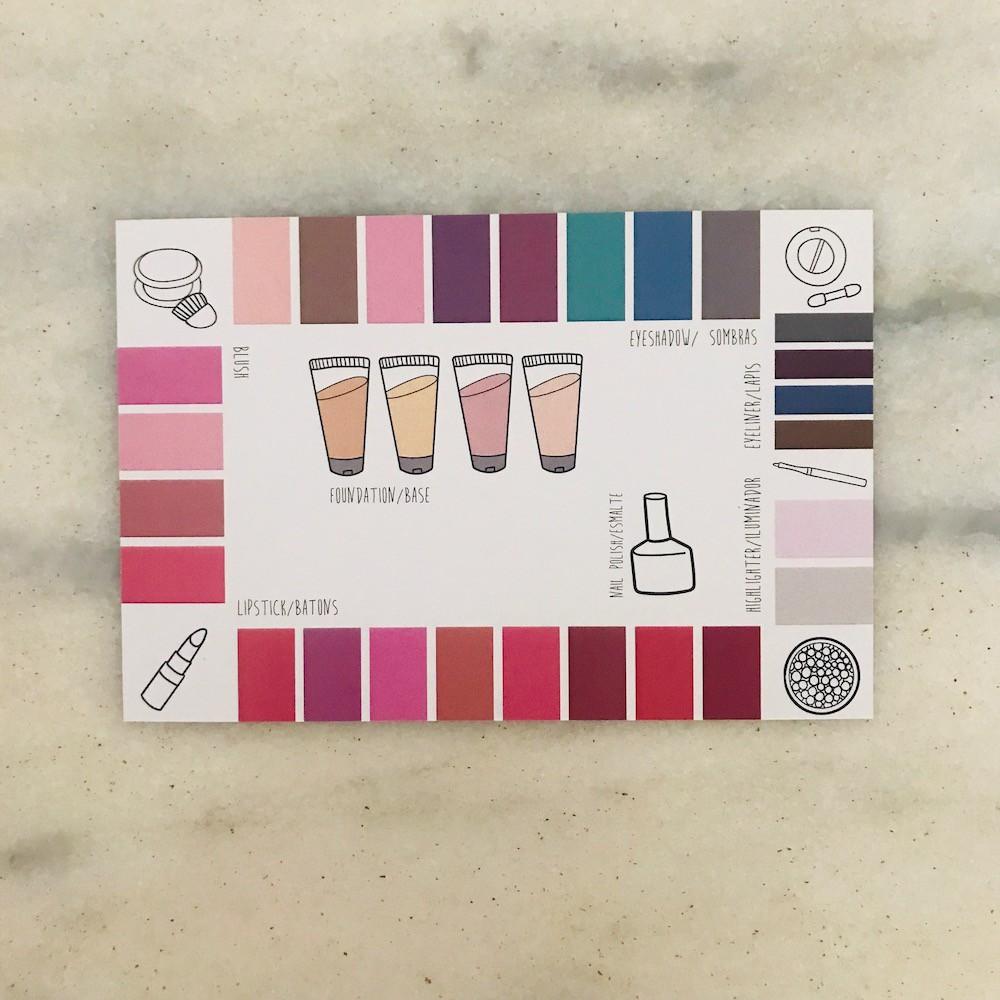 Kit Makeup Card Sazonal - 4 estações