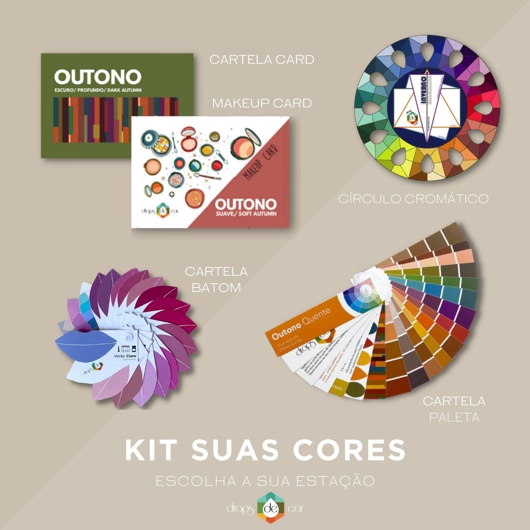 Kit Suas Cores  - Escolha sua Estação