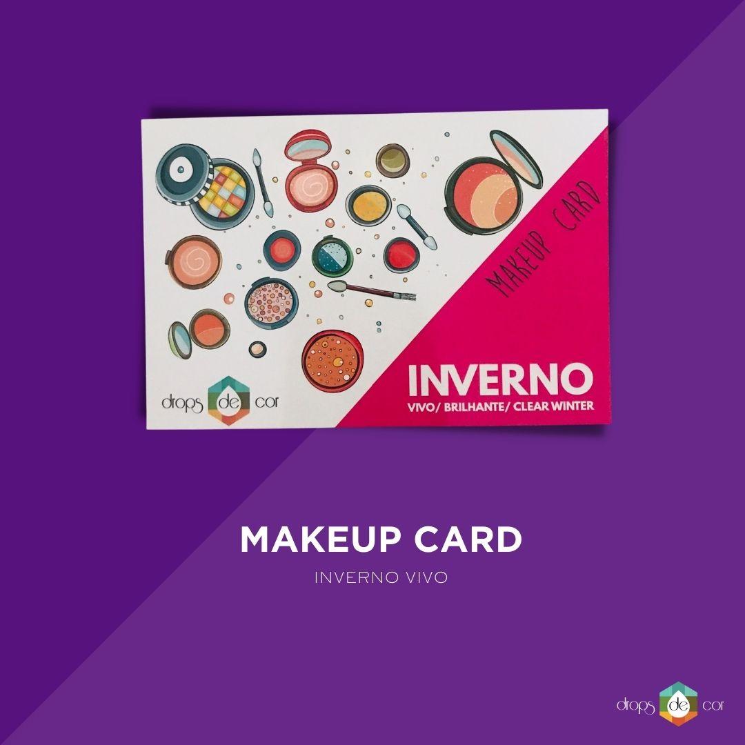Makeup Card Inverno Vivo
