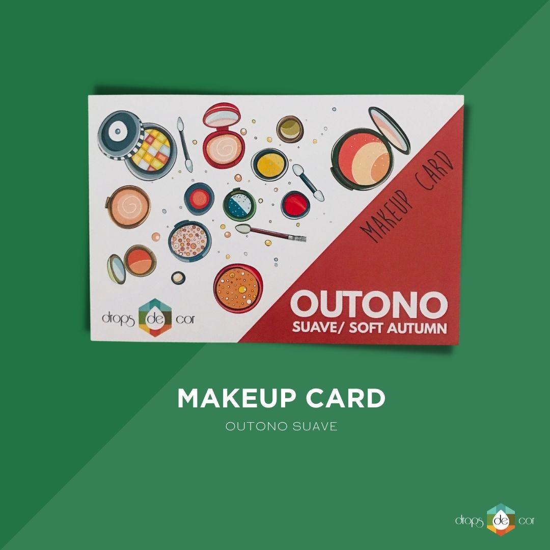 Makeup Card Outono Suave