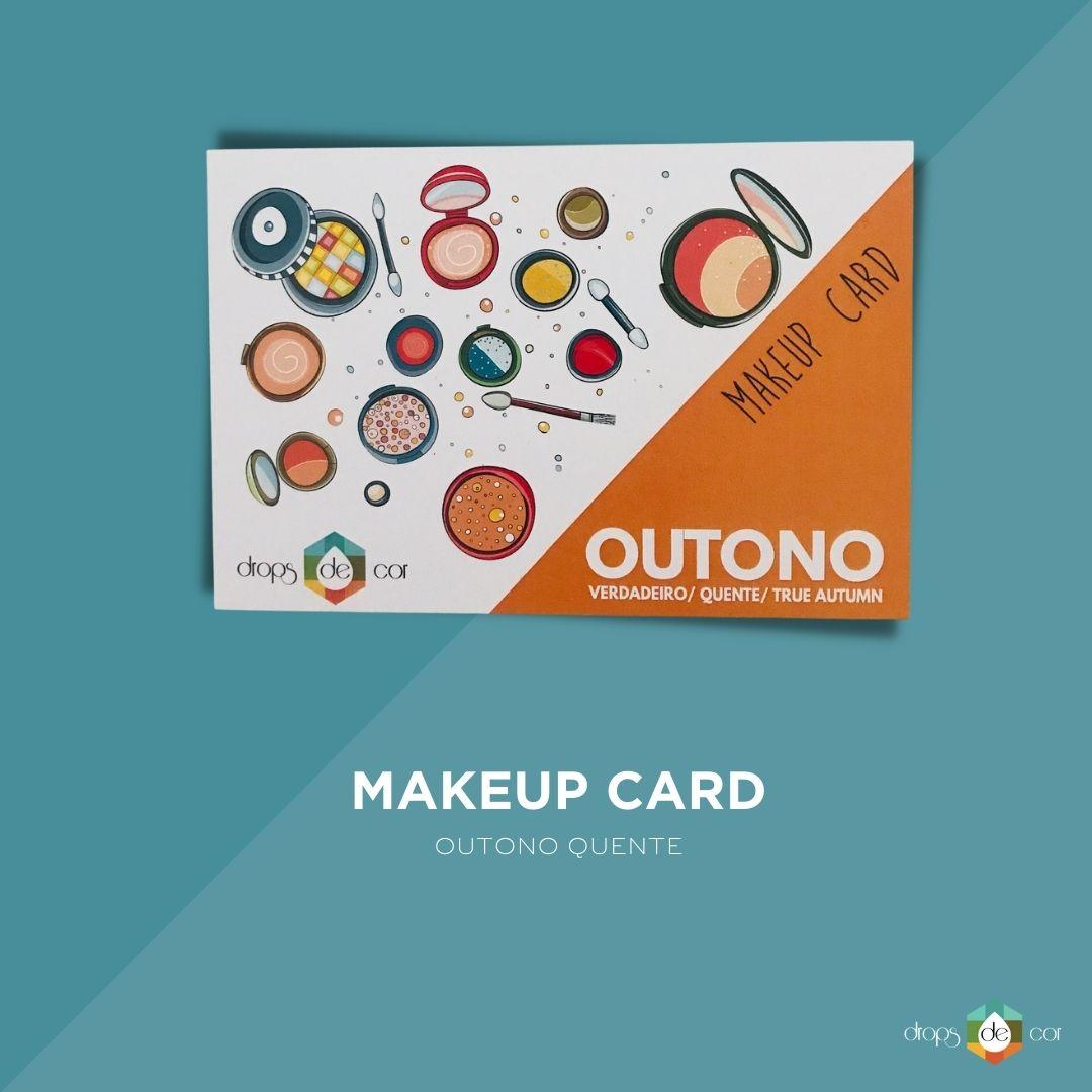 Makeup Card Outono Verdadeiro