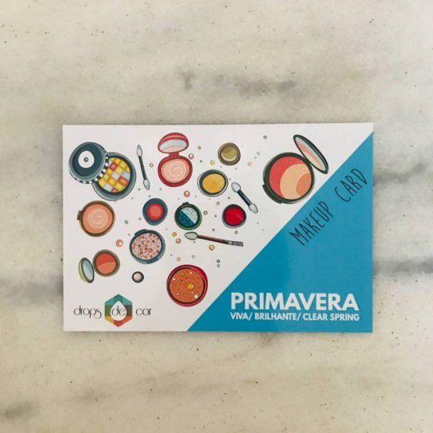 Makeup Card Primavera Viva