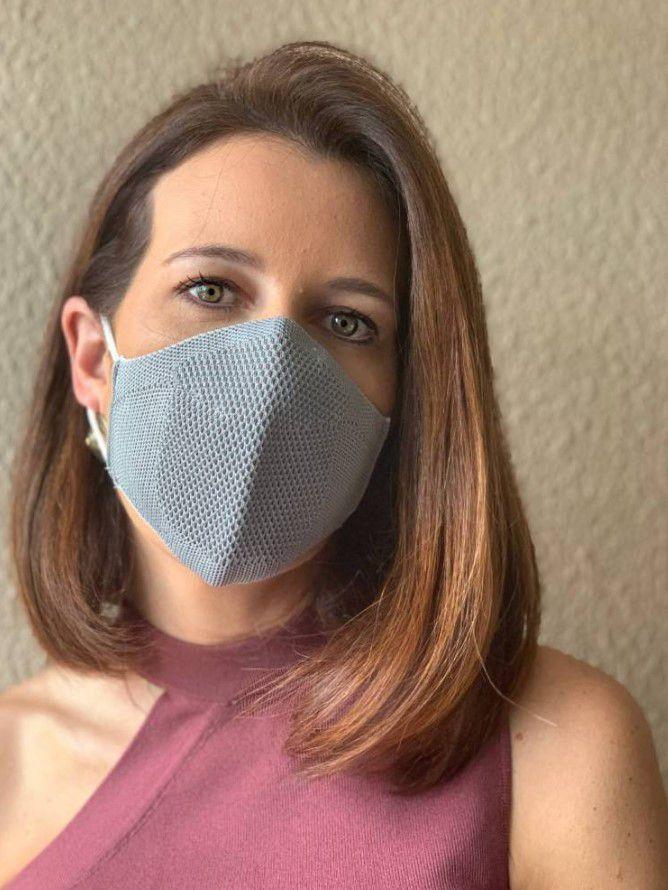 Máscara - Cinza Claro