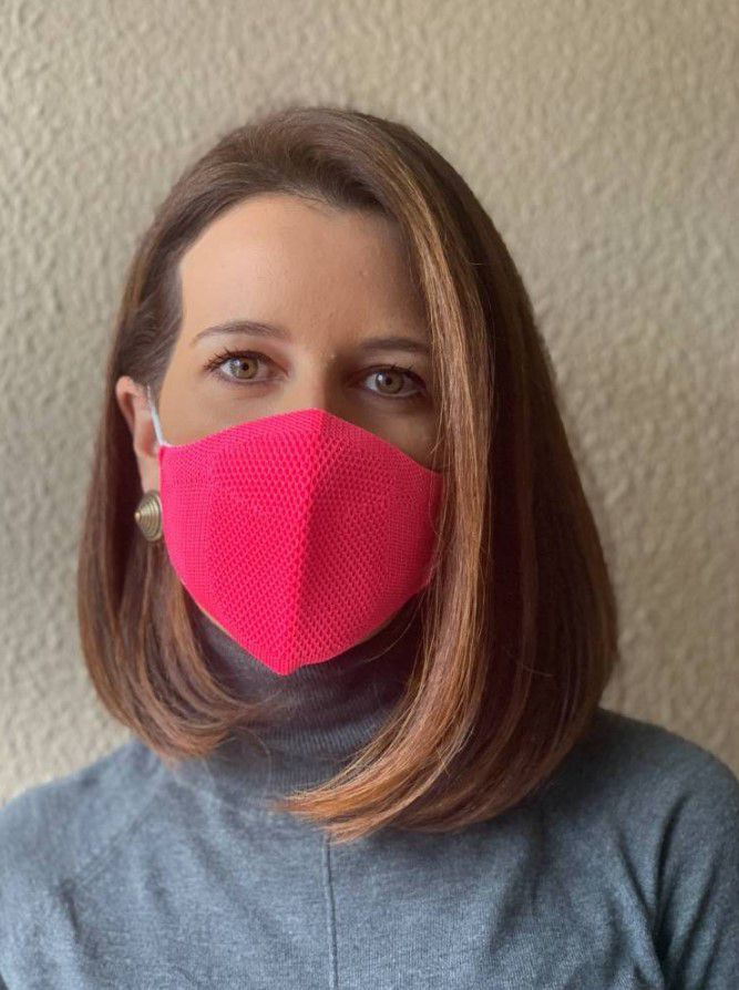 Máscara - Rosa Pink