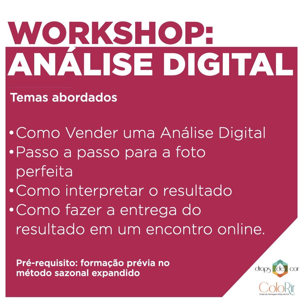 Workshop 2 - ONLINE E AO VIVO - Análise Digital - 28 de Abril