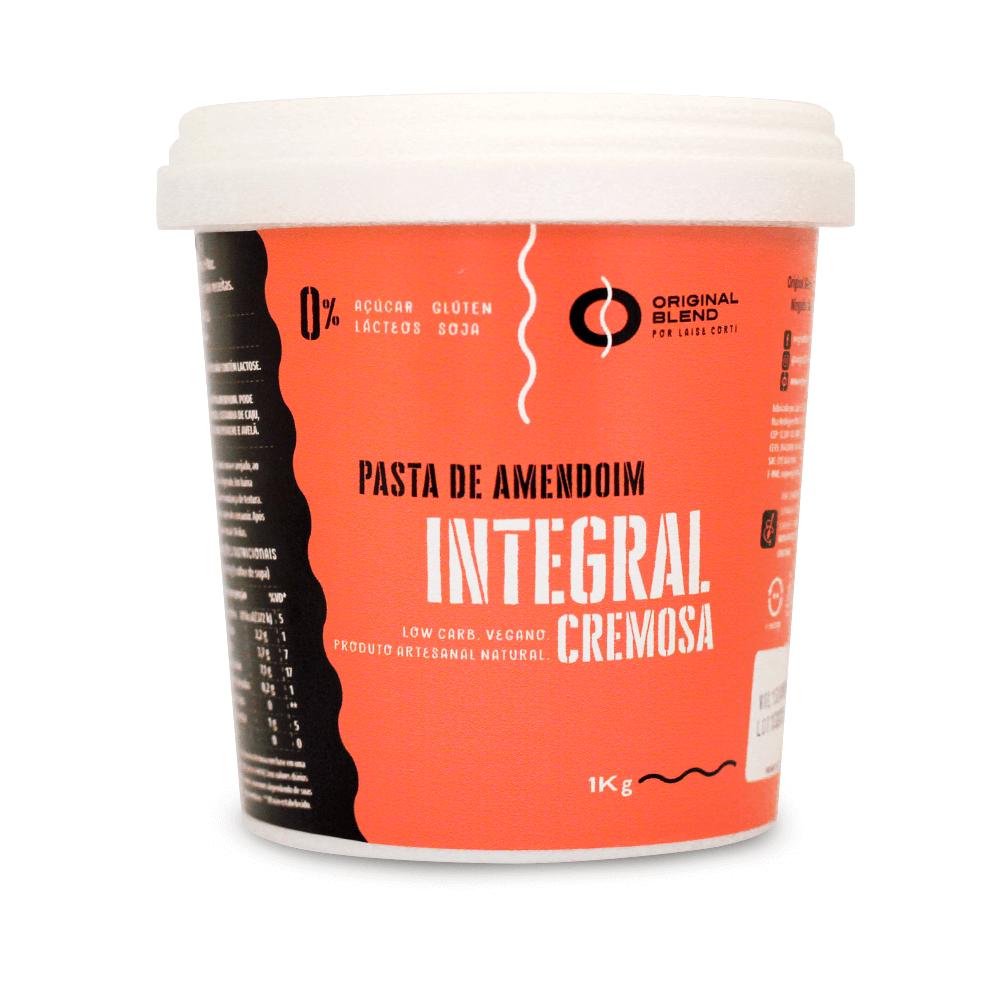 Amendoim Integral Cremosa 1kg
