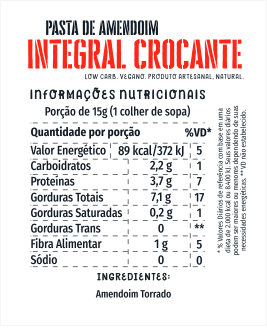 Amendoim Integral Crocante 1kg