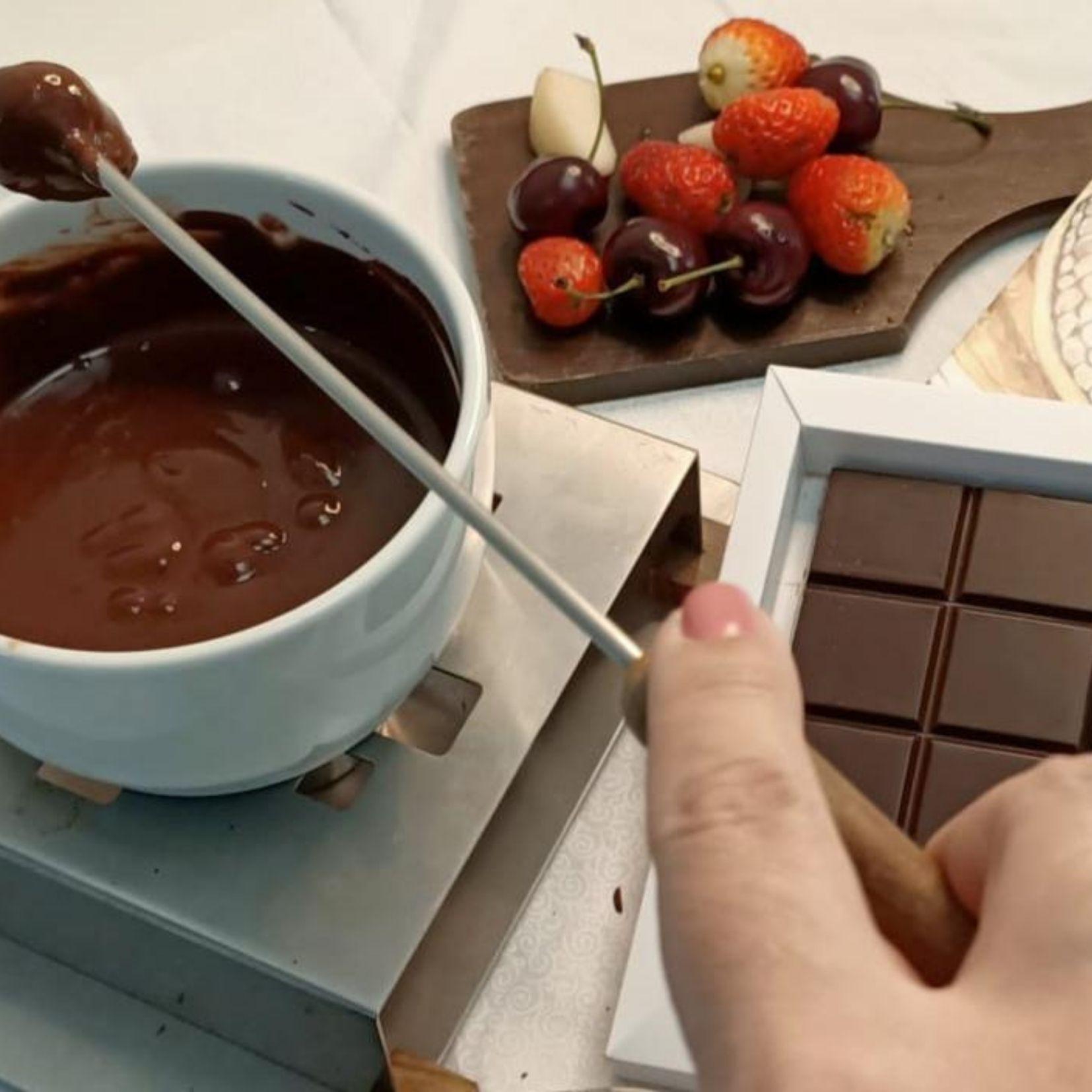 Barra Fondue de Avelã com Cacau - Cocoa Art