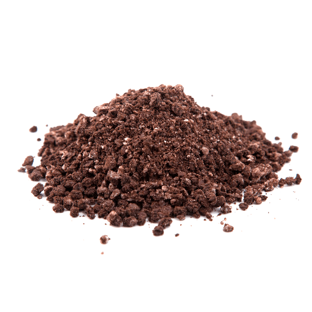 Biscoito de cacau vegano triturado 500g