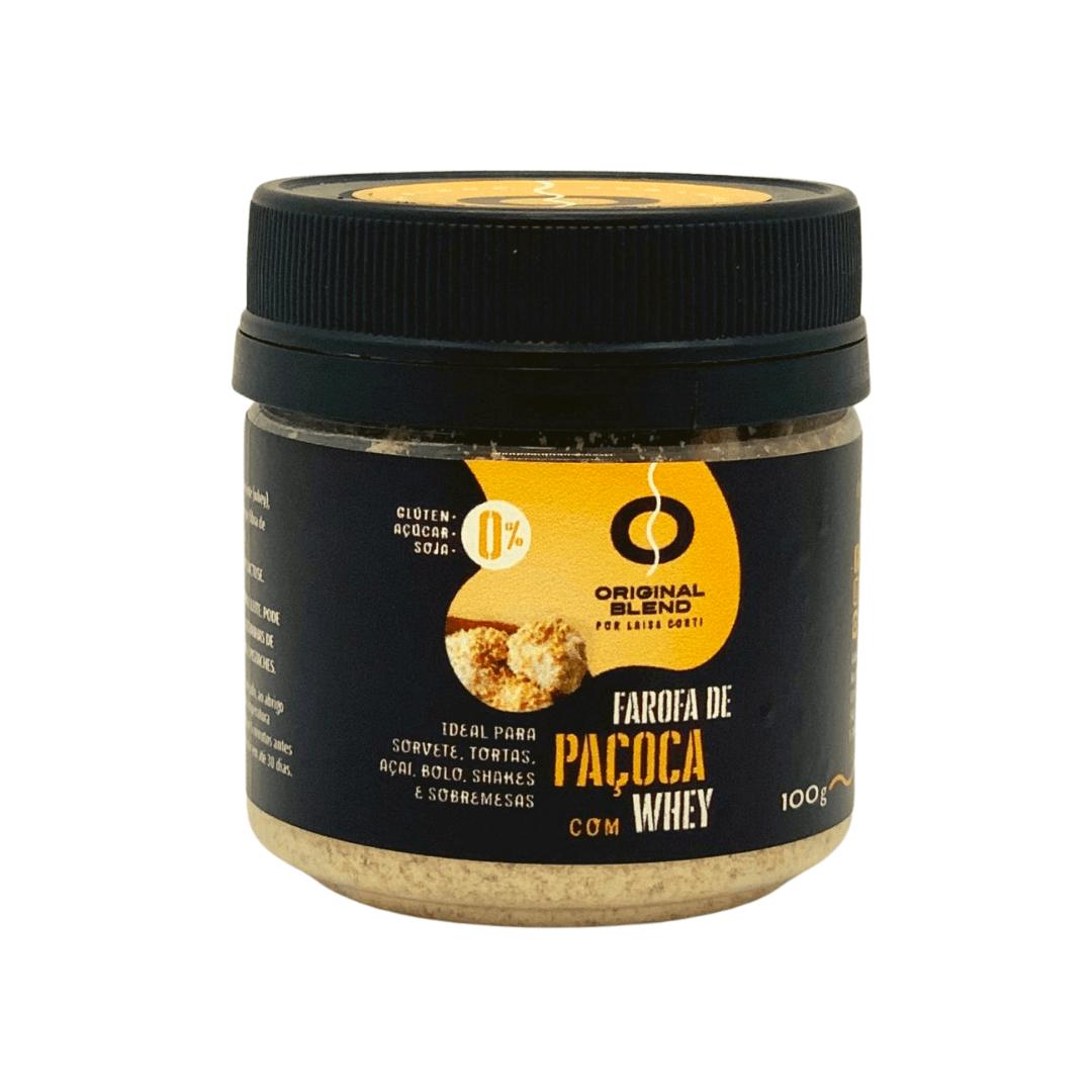 Farofa de Paçoca com Whey 100g
