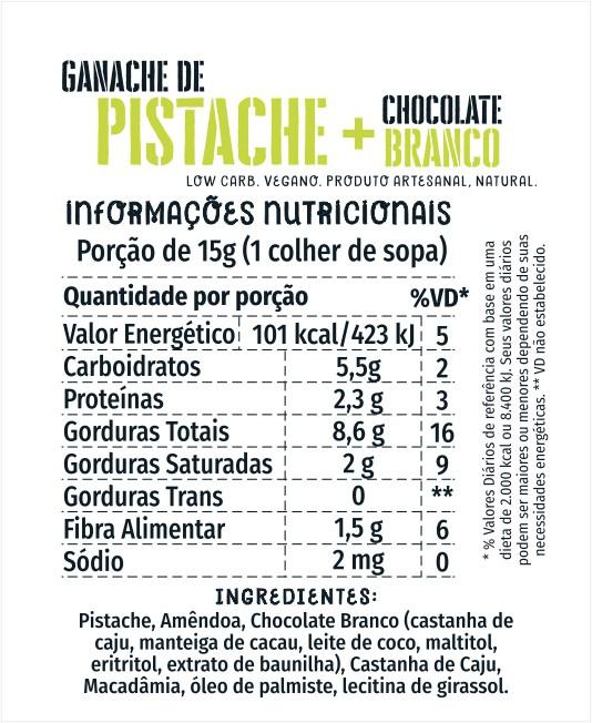 Ganache Pistache Cream 3kg