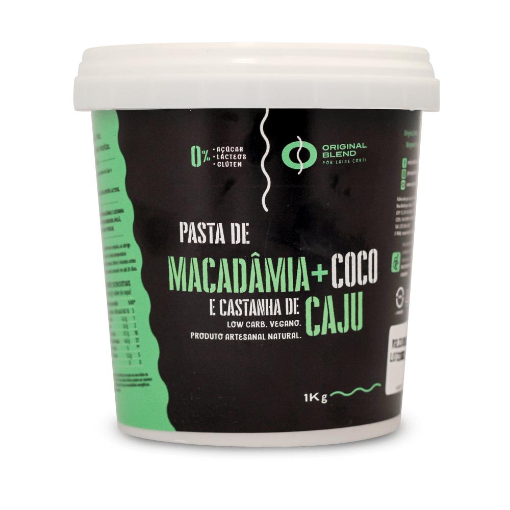 Macadâmia + Coco e Castanha de Caju 1kg