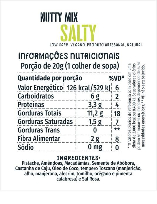 Nutty Mix Salty 150g