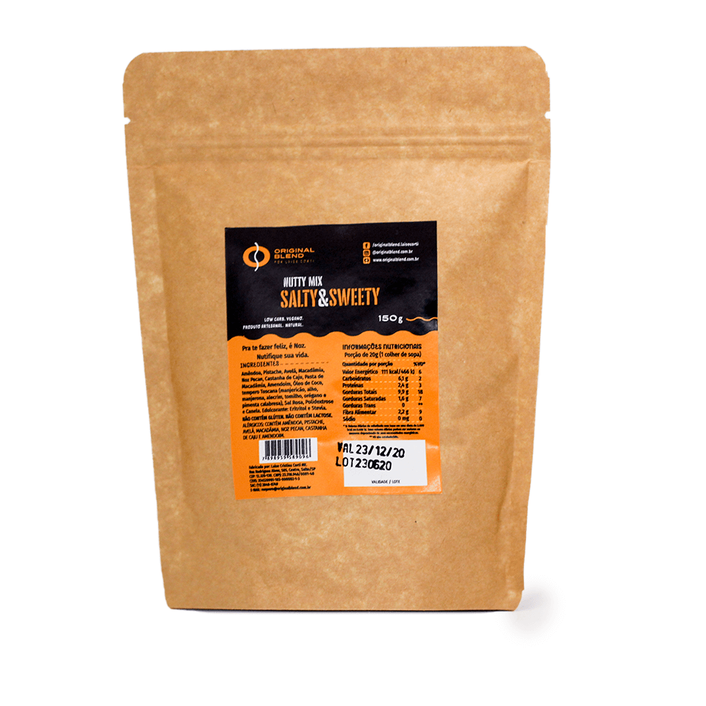 Nutty Mix Salty & Sweet 150g