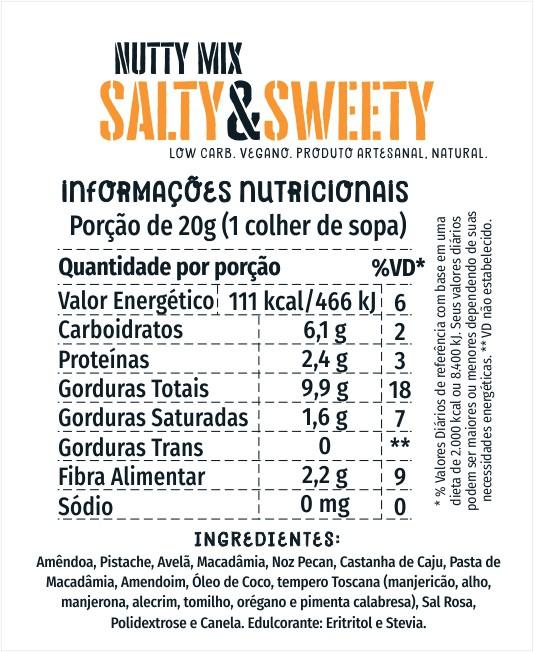 NuttyMix Salty & Sweet 150g
