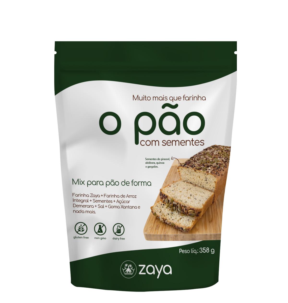 Pão de Sementes - Zaya