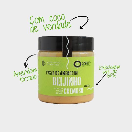 Pasta de Amendoim Beijinho Cremoso