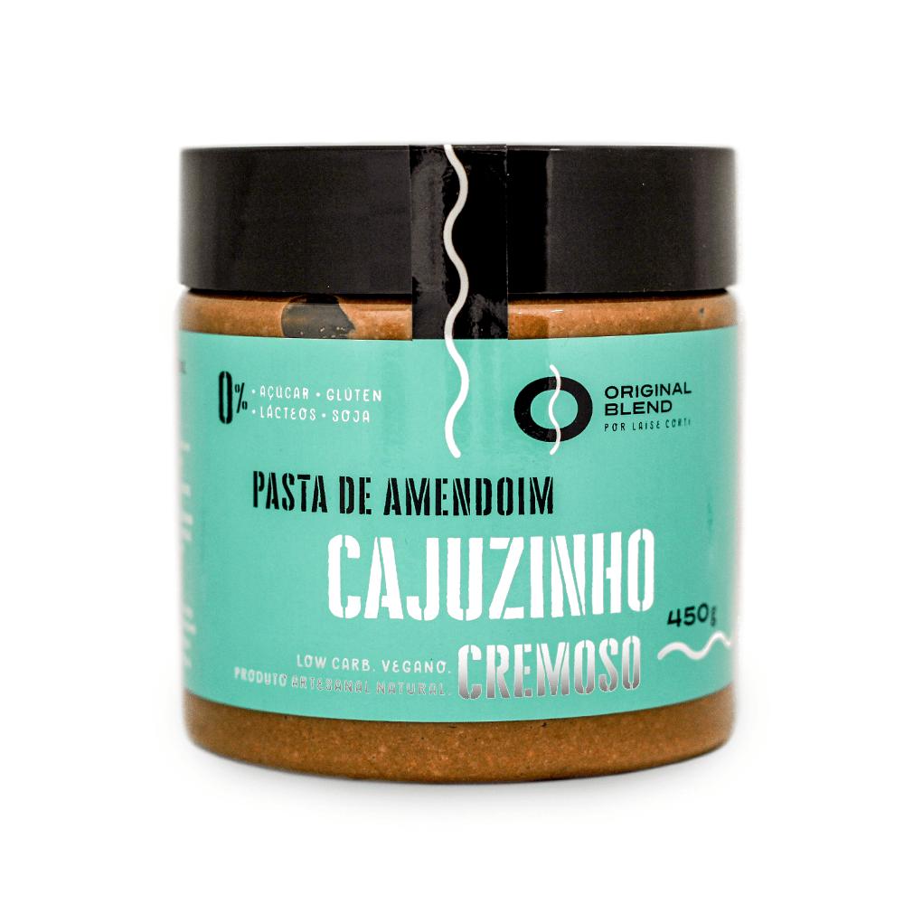 Pasta de Amendoim Cajuzinho Cremoso 450g