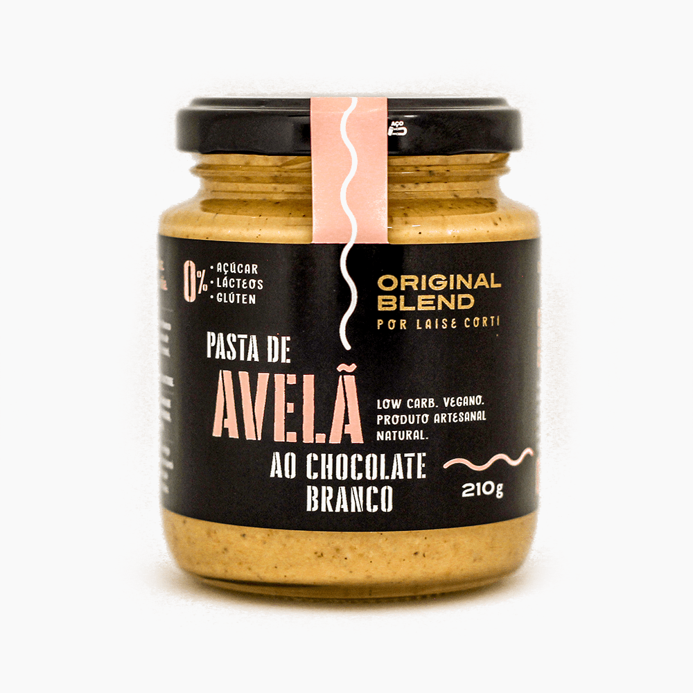 Pasta de Avelã + Chocolate Branco 210g
