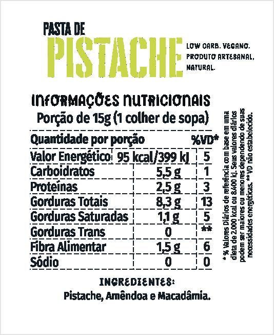 Pasta de Pistache 500g