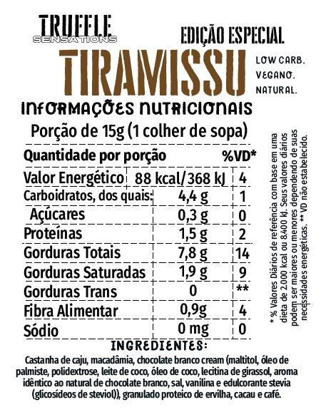 Truffle Tiramissu - Lilian Sá 200g - Edição de Natal
