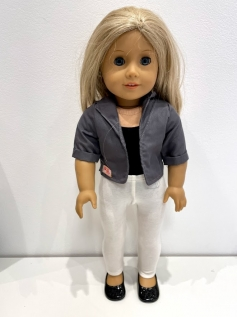 Blusa Blazer para American Girl ou Our Generation