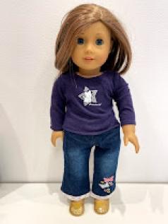 Blusa para American Girl ou Our Generation 0009