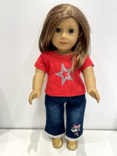 Blusa para American Girl ou Our Generation 0012