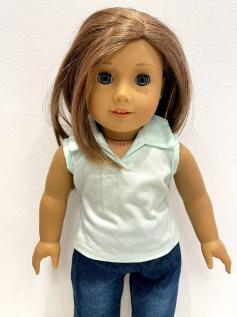 Blusa para American Girl ou Our Generation 0013