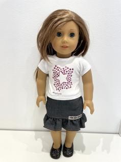 Blusa para American Girl ou Our Generation 0014