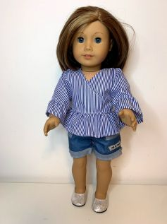 Blusa para American Girl ou Our Generation (0024)