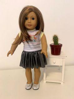 Blusa para American Girl ou Our Generation (0037)