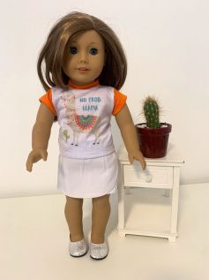 Blusa para American Girl ou Our Generation (0038)