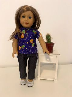 Blusa para American Girl ou Our Generation (0040)