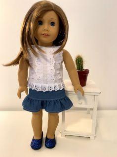 Blusa para American Girl ou Our Generation (0046)