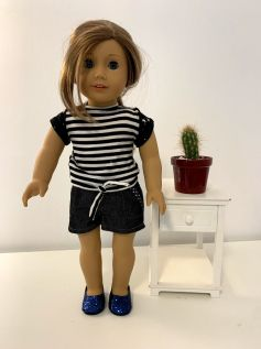 Blusa para American Girl ou Our Generation (0052)