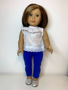 Blusa para American Girl ou Our Generation (0063)