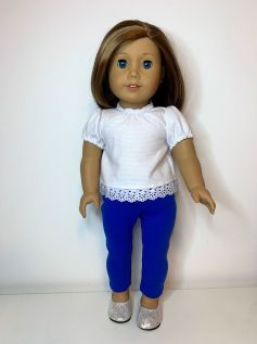 Blusa para American Girl ou Our Generation (0064)