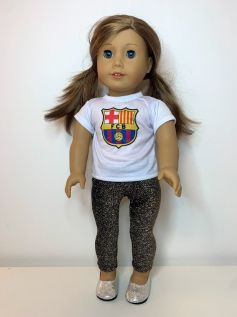 Blusa Barcelona para American Girl ou Our Generation