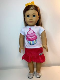 Blusa para American Girl ou Our Generation (0076)