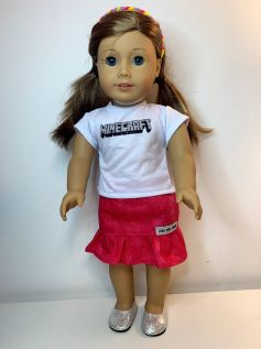 Blusa para American Girl ou Our Generation (0077)