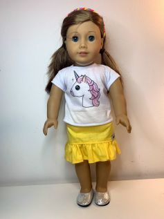 Blusa para American Girl ou Our Generation (0078)