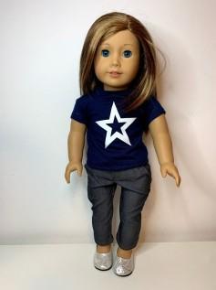 Blusa para American Girl ou Our Generation (0081)