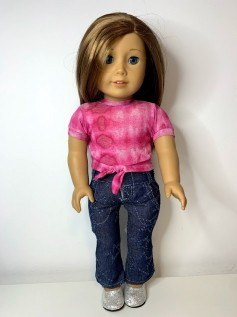 Blusa Tie Dye para American Girl ou Our Generation (0002)