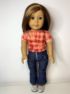 Blusa Tie Dye para American Girl ou Our Generation (0003)